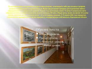 В настоящее время это комплексный многотемный музей, сочетающий в себе два ос