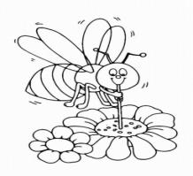 Dibujos para colorear de abejas gratisDibujos de dibujar