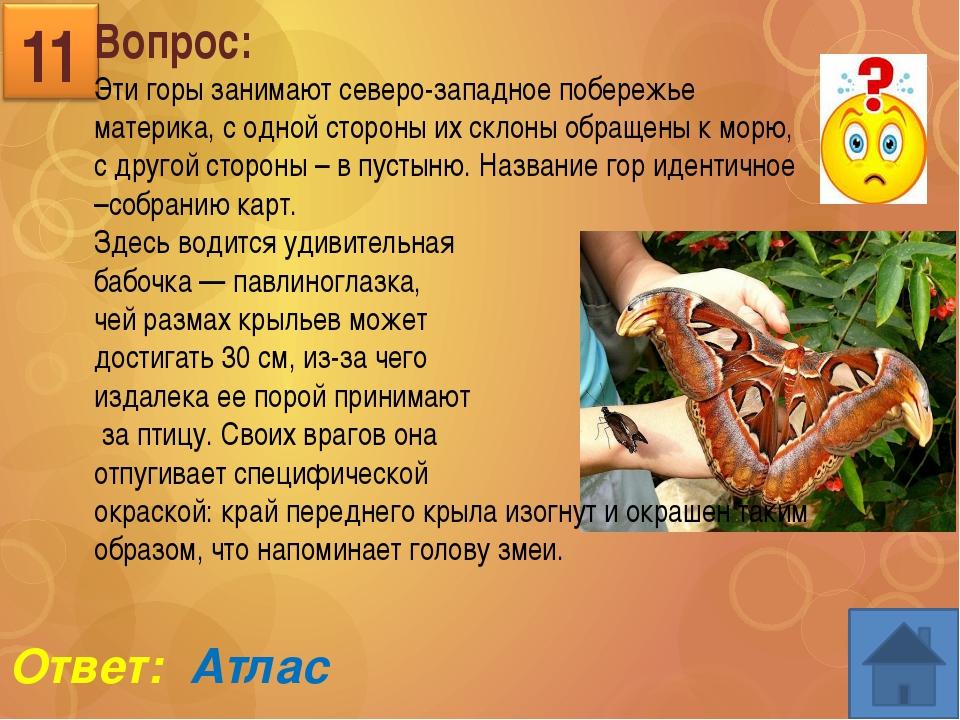 Вопрос: Горы «от моря и до моря» от Черного и до Каспийского 13 Ответ: КАВКАЗ