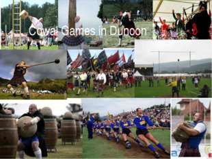 Cowal Games in Dunoon