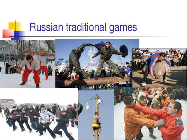 Russian traditional games