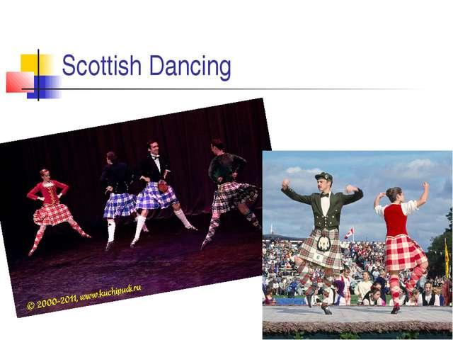 Scottish Dancing