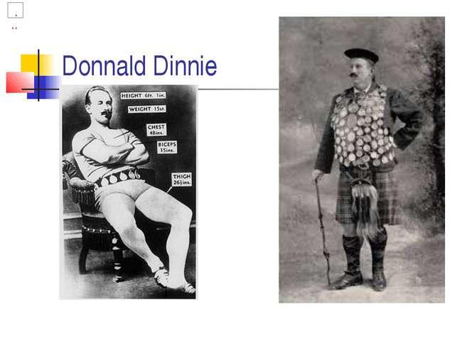 Donnald Dinnie