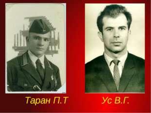 Таран П.Т  Ус В.Г.