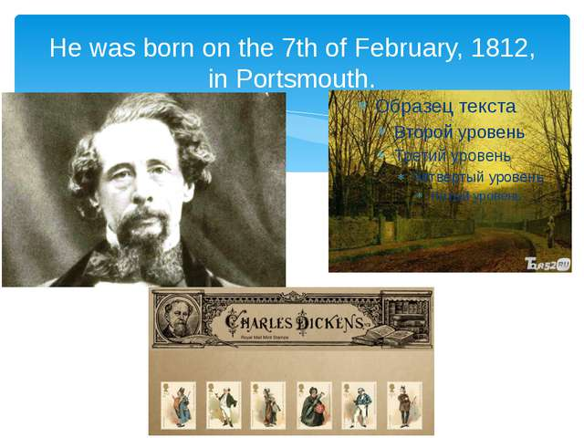 He was born on the 7th of February, 1812, in Portsmouth.