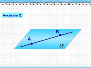 Аксиома 2:
