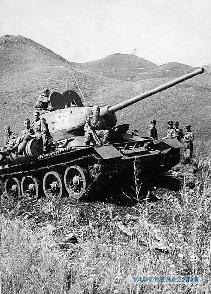 Т-34-85. Хинганский переход