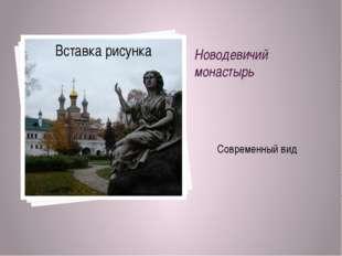 Новодевичий монастырь Современный вид