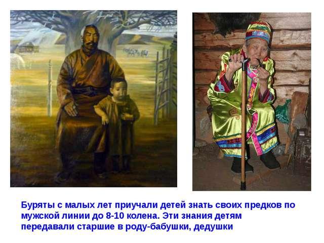 Буряты с малых лет приучали детей знать своих предков по мужской линии до 8-1...