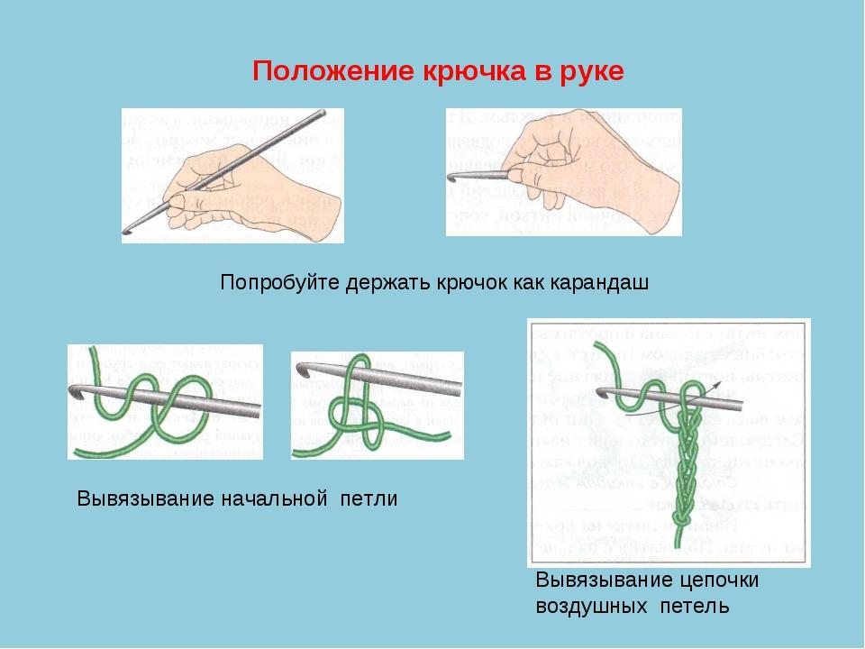 Вязание крючком положение 48