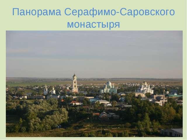 Панорама Серафимо-Саровского монастыря