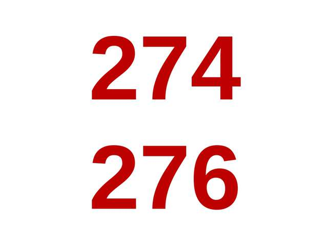274 276