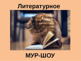Литературное МУР-ШОУ