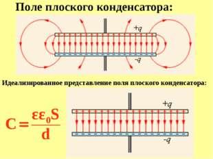 Электроемкость C батареи, составленной из параллельно соединенных конденсатор
