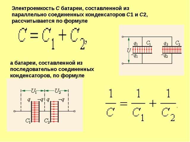Конденсаторы бумажные и электролити-ческие Конденсатор переменной емкости Кон...