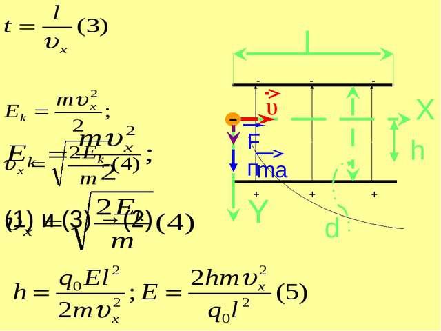 Подставим υx в формулу (5):