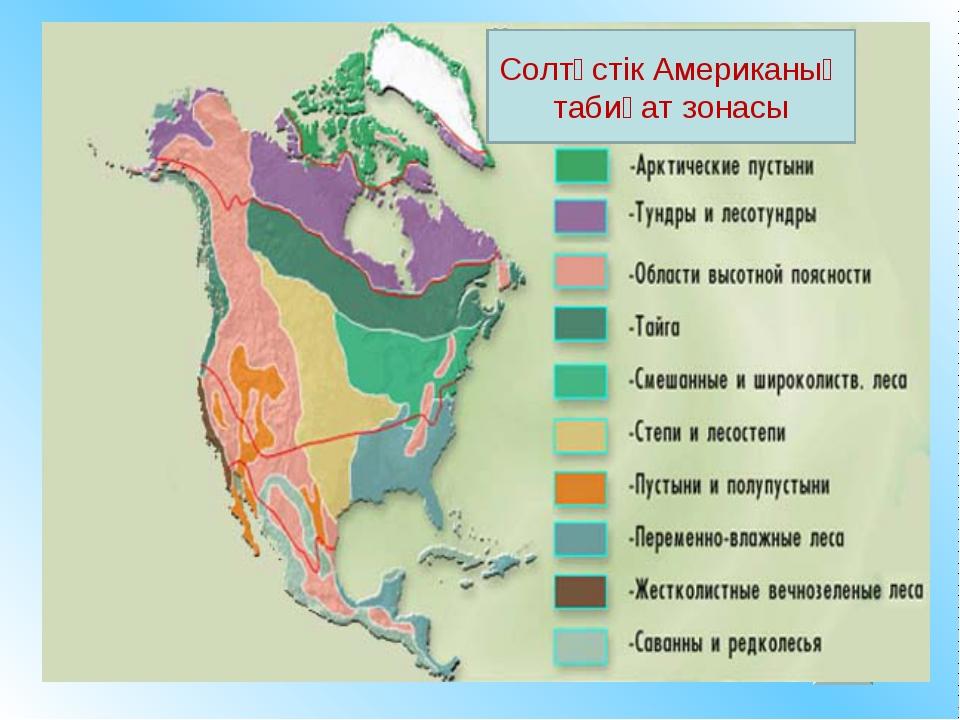 Солтүстік Американың табиғат зонасы