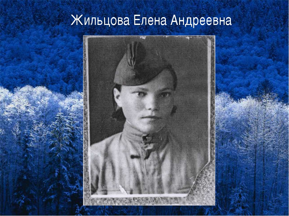 Жильцова Елена Андреевна