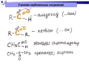 Проект на тему: «Чистая вода» Строение карбонильных соединений