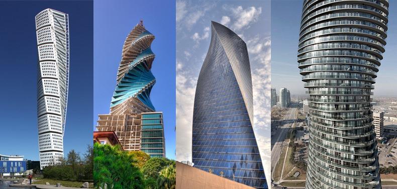 Спиральные небоскребы по всему миру - Знаменитые здания мира - Сообщества и развлечения - Ossbe.com