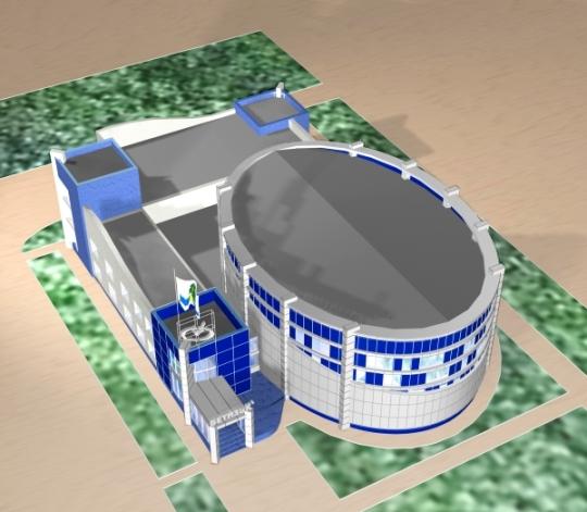 Архитектурный проект здания офиса для строительной компании Бетиз и К - Общий план