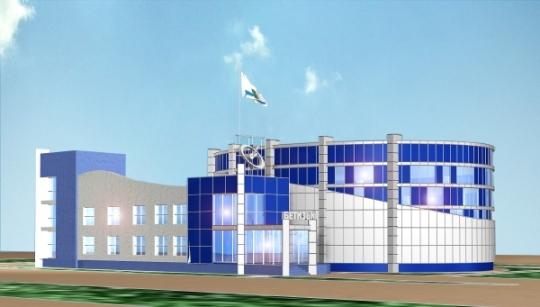 Архитектурный проект здания офиса для строительной компании Бетиз и К