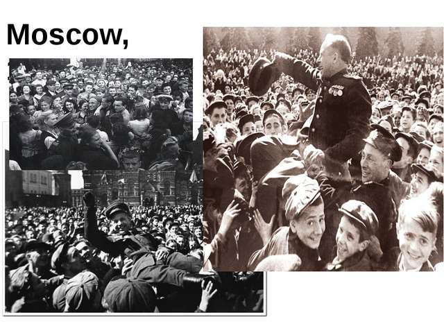 Moscow, 1945