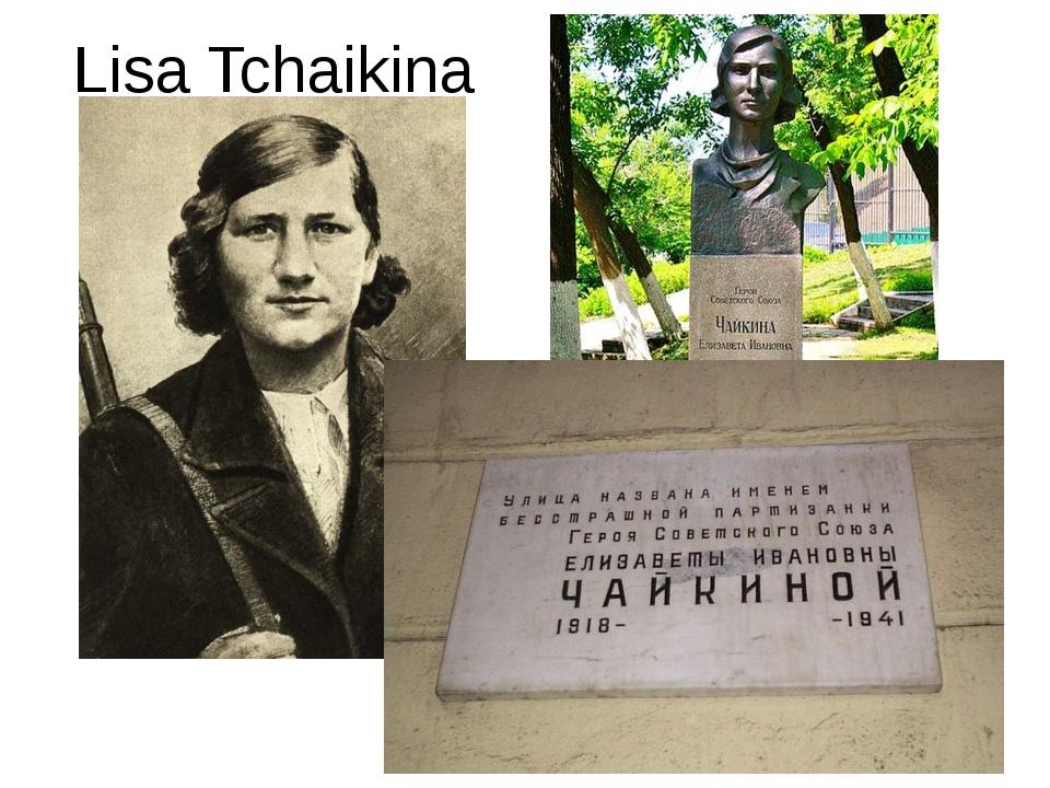 Lisa Tchaikina