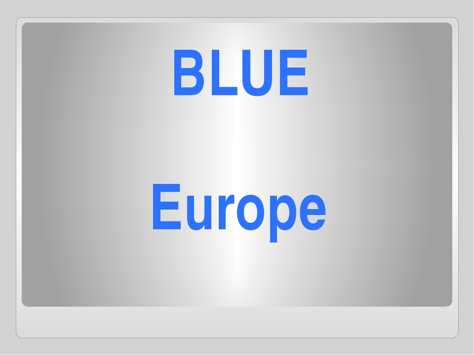 Europe BLUE