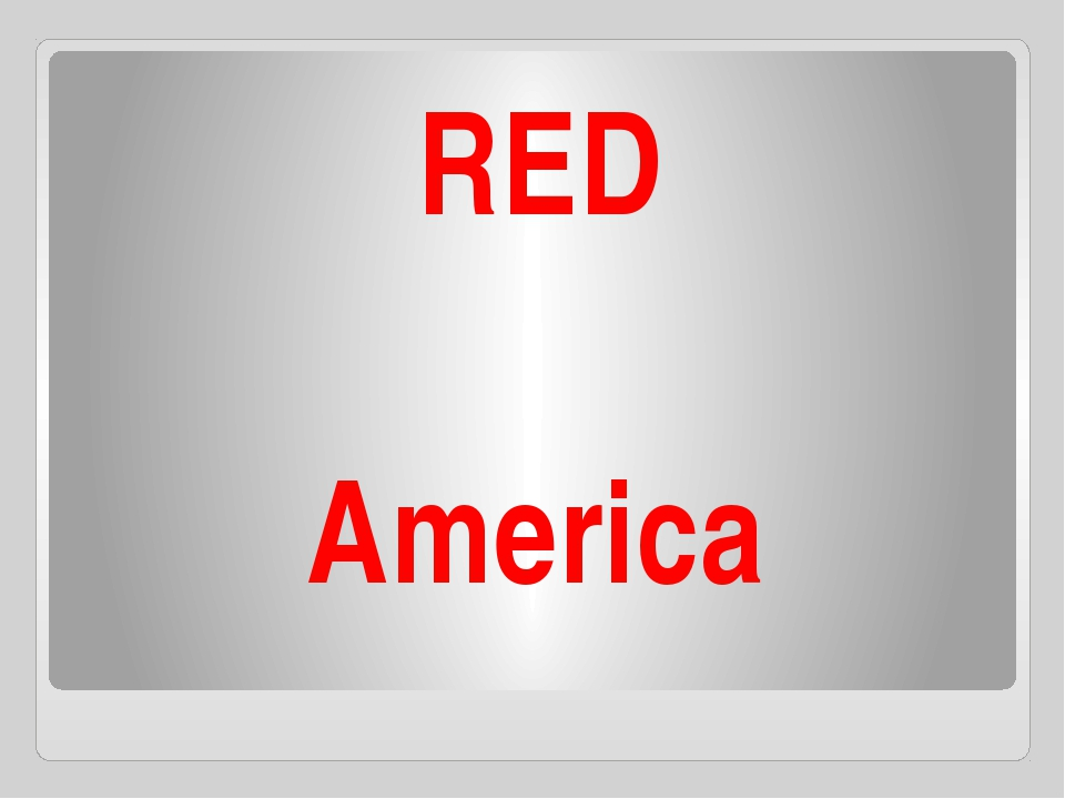 America RED