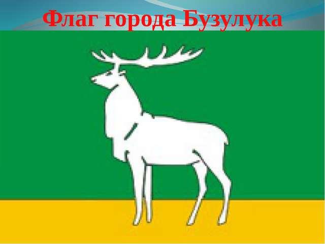 Флаг города Бузулука