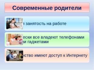 Современные родители
