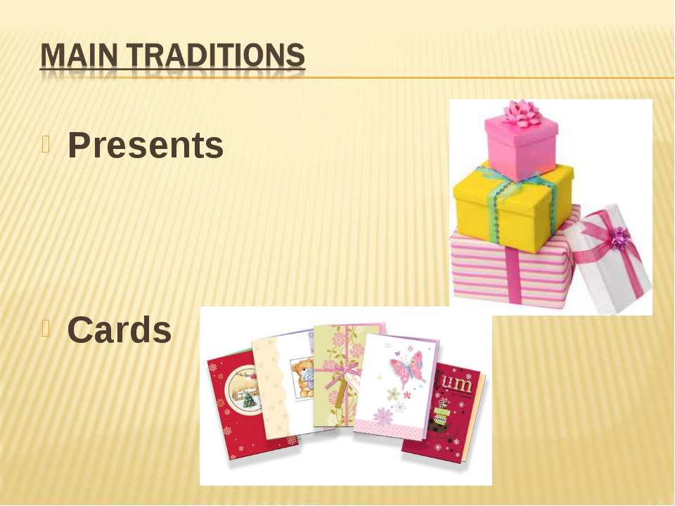 Presents Cards