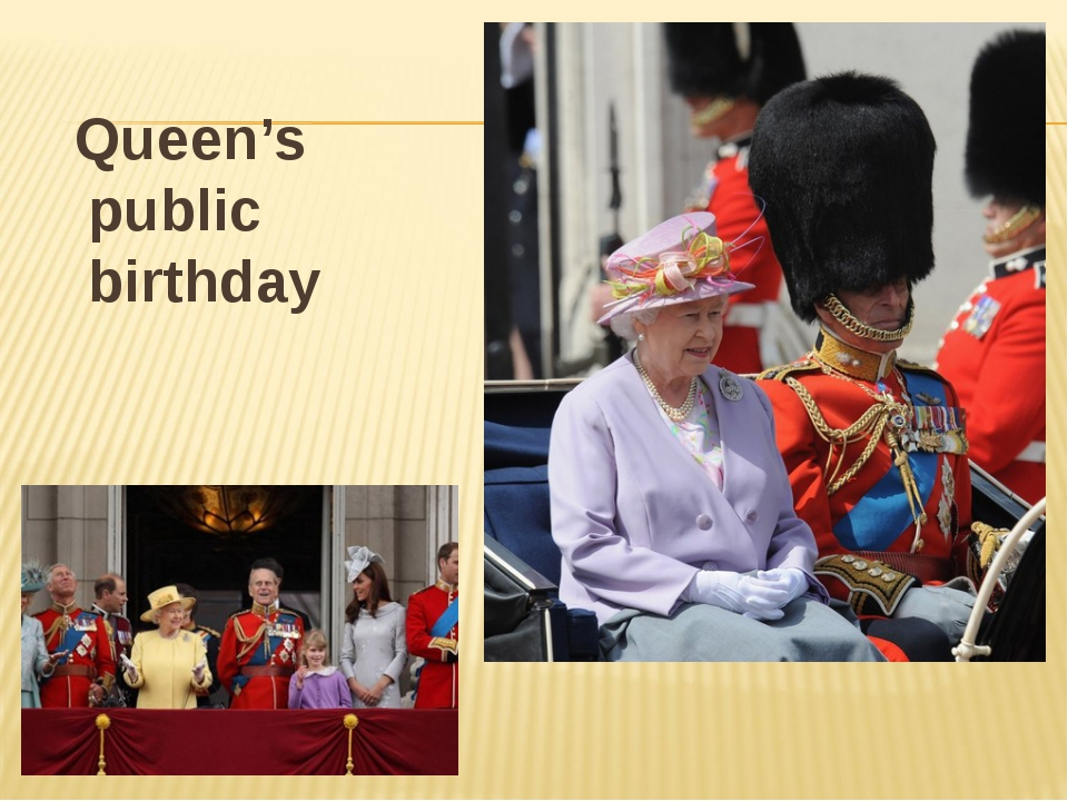 Queen's public birthday