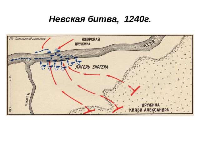 Невская битва, 1240г.