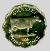 три пенса: коровья монета