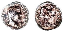 Рим.Песциний Нигер. Денарий. AR. II в. н.э