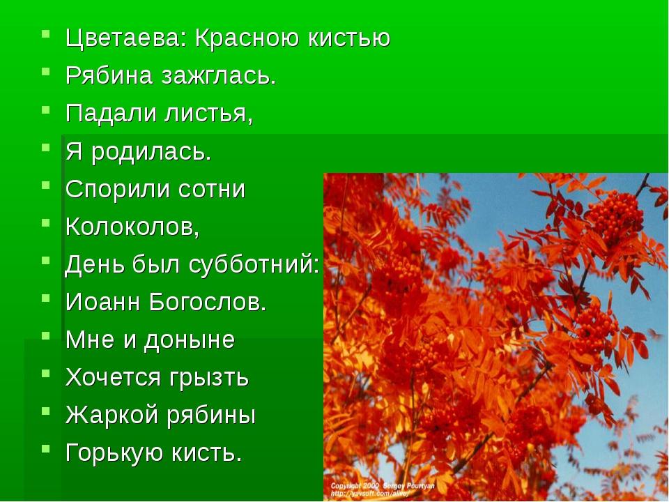 мнения том, рябина стихи русских поэтов девушек