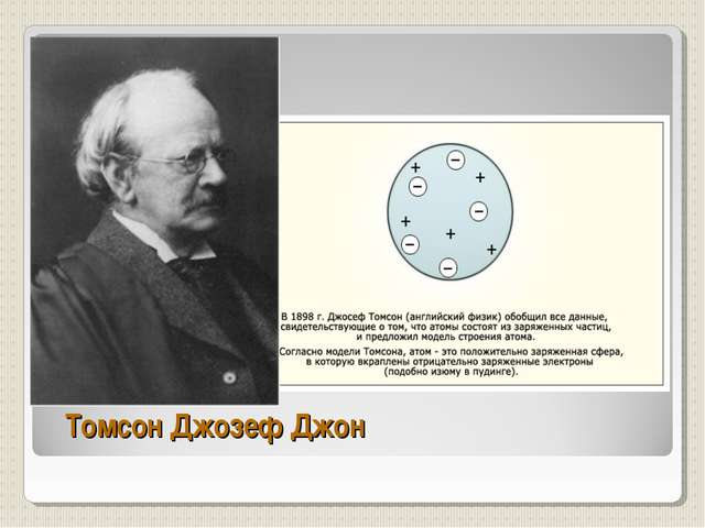 Томсон Джозеф Джон
