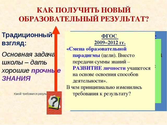 СТАНДАРТ ТРЕБОВАНИЯ К УСЛОВИЯМ ООП РЕЗУЛЬТАТАМ ООП СТРУКТУРЕ ООП ЛИЧНОСТНЫЕ,...