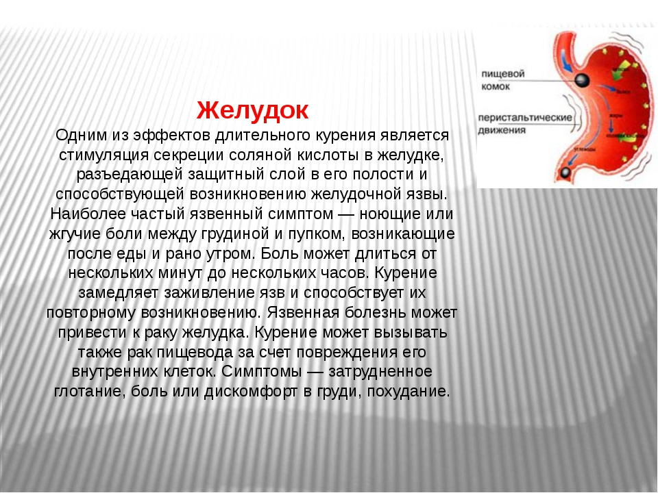 Конечности Каждый седьмой курильщик рано или поздно заболевает хроническим за...