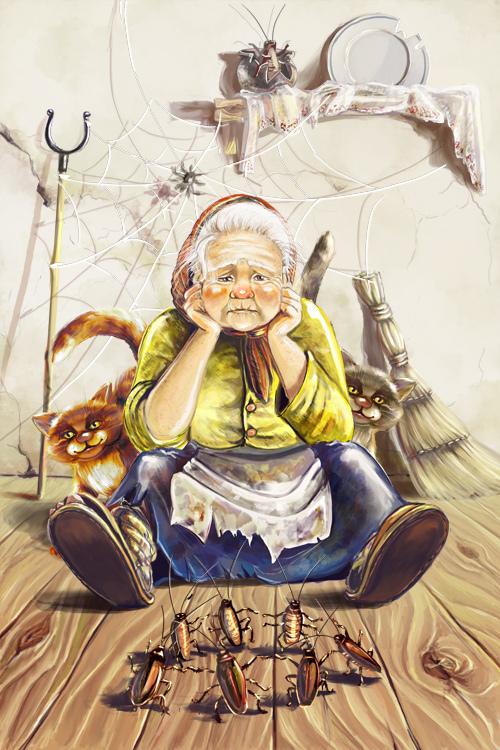 Иллюстрации. Стихи Чуковского. Федорино горе