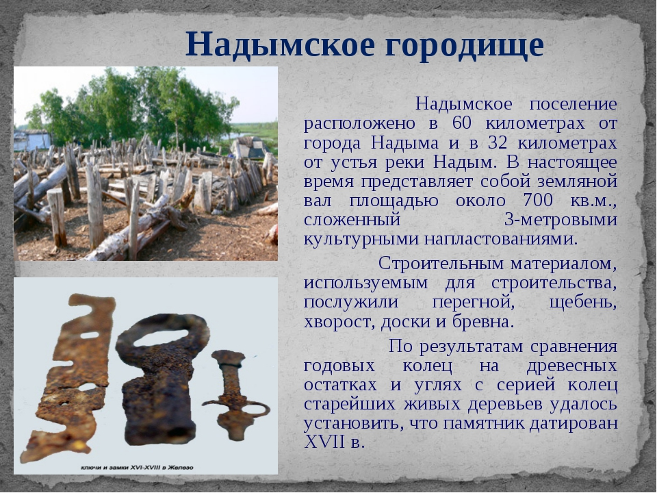 Надымское поселение расположено в 60 километрах от города Надыма и в 32 кило...