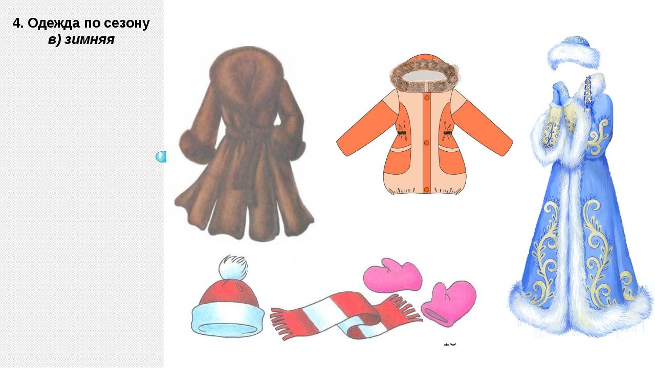 знакомство детей с одеждой