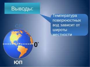 Среднегодовая температура поверхностных вод в океана в Атлантическом океане +