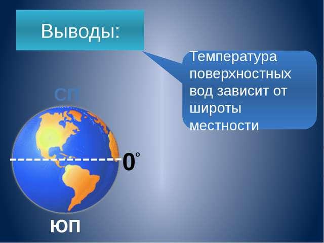 Среднегодовая температура поверхностных вод в океана в Атлантическом океане +...