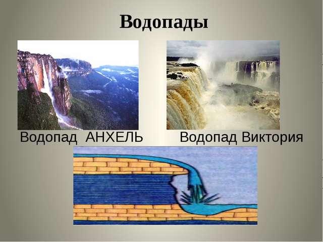 Водопад АНХЕЛЬ Водопад Виктория Водопады