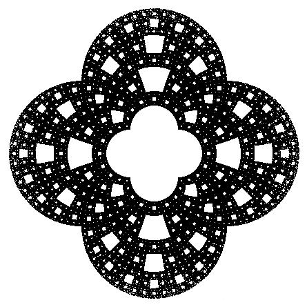 Преобразованный ковёр Серпинского