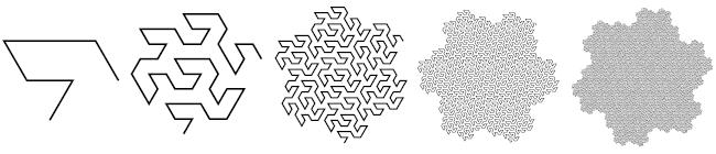 Кривая (снежинка) Госпера