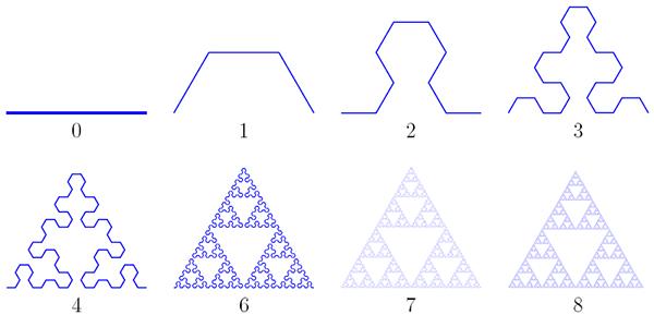 Еще один способ получить треугольник Серпинского
